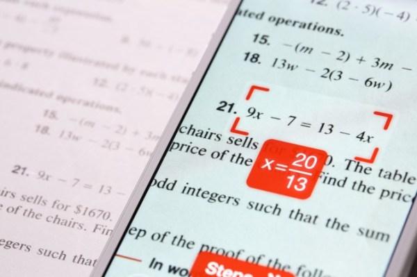 Бесплатное приложение PhotoMath решит математику за вас ...