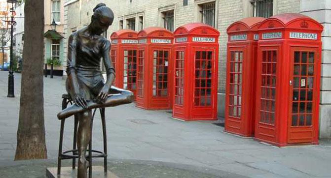 Старые телефонные будки в Лондоне переделают в зарядные станции для мобильных устройств