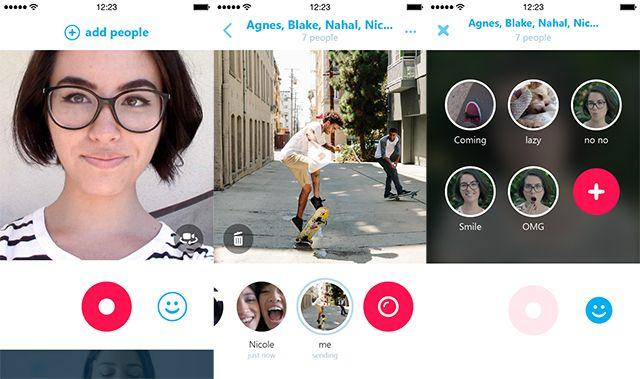 Skype Qik - мессенджер для обмена исключительно видео-сообщениями