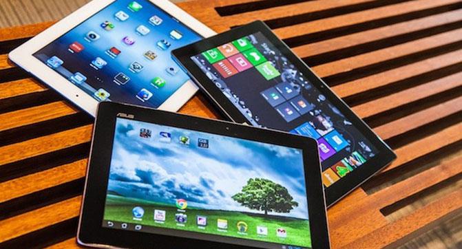 По итогам минувшего квартала у Apple сократился объем поставок планшетов