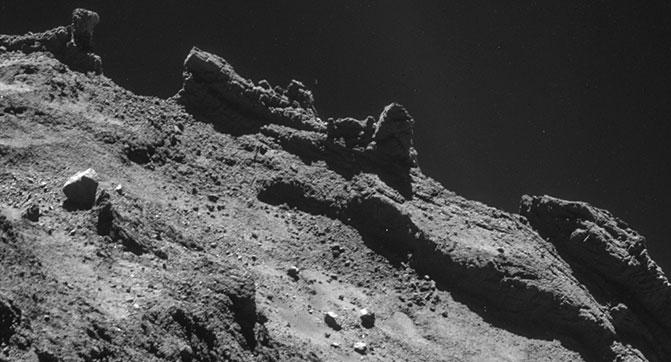 Появились фотографии кометы Чурюмова-Герасименко, сделанные уже после посадки Philae