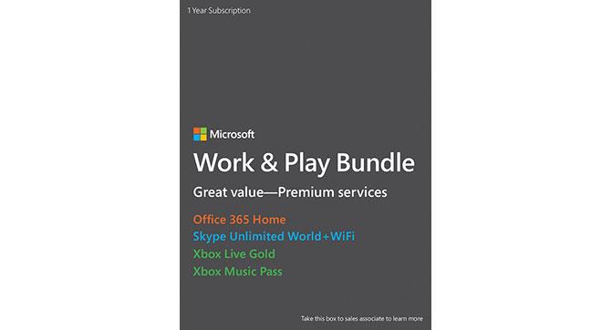 Microsoft предлагает пакет Work & Play Bundle, включающий 4 сервиса по подписке с большой скидкой