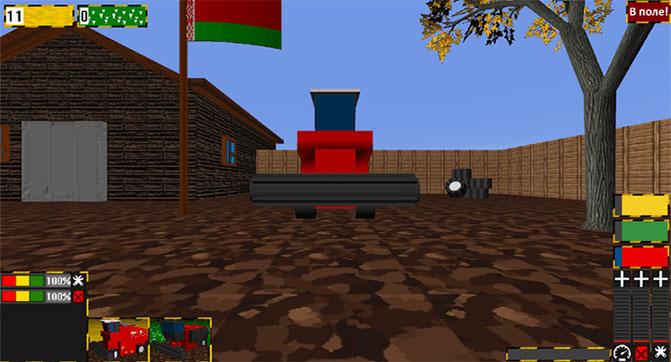 Вдохновившись World of Tanks, десятиклассник самостоятельно создал игру о комбайнах