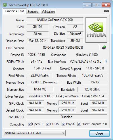 GIGABYTE_BRIX_GTX760_GPU-Z_info