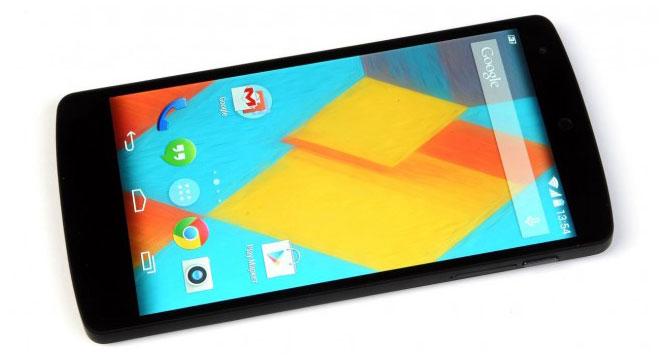 Продажи смартфона Nexus 5 возобновятся в начале 2015 года