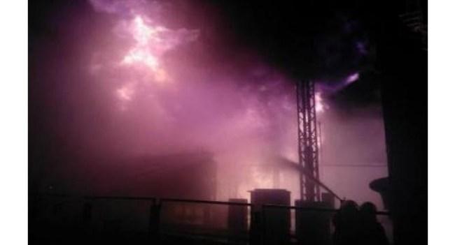 На Южно-Украинской АЭС произошел пожар