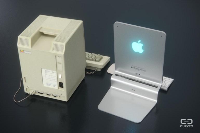 Порты и разъемы в концепте представлены одним USB 3.0 и Lightning. Для зарядки предназначен MagSafe.