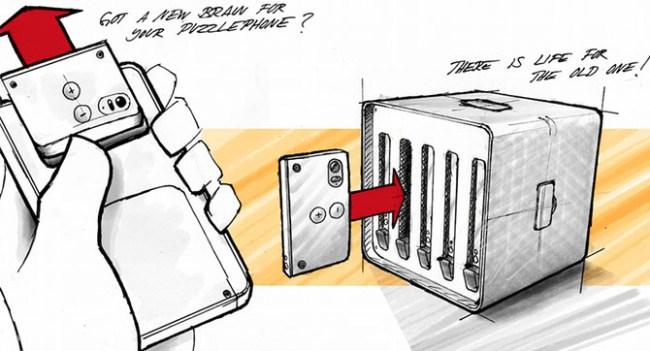 Circular Devices предлагает создавать суперкомпьютеры из б/у модульных смартфонов