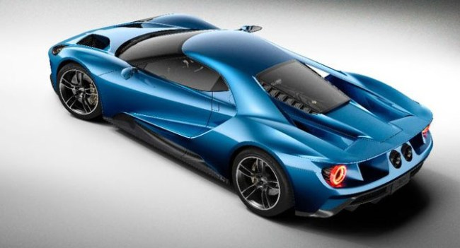 Ford показала концепт нового автомобиля GT