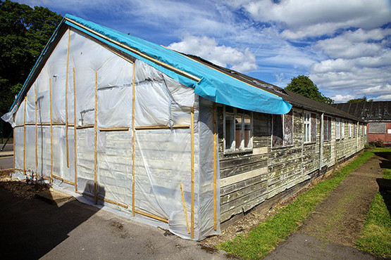 07/05/13 Hut Restoration - bletchley park, milton keynes