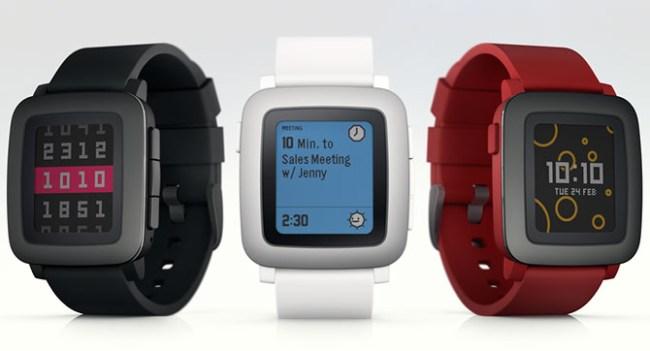 Pebble анонсировала на Kickstarter умные часы Pebble Time с цветным дисплеем