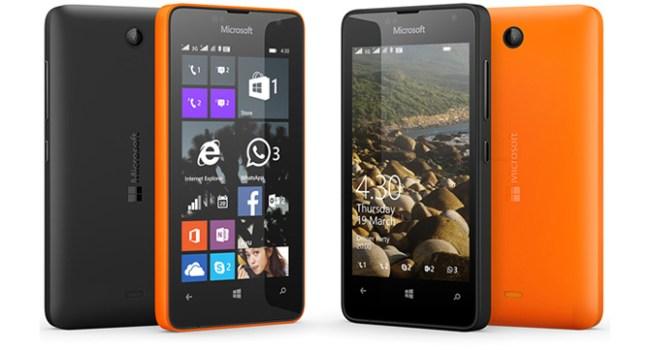 Lumia 430 Dual SIM - бюджетный смартфон с поддержкой двух SIM-карт