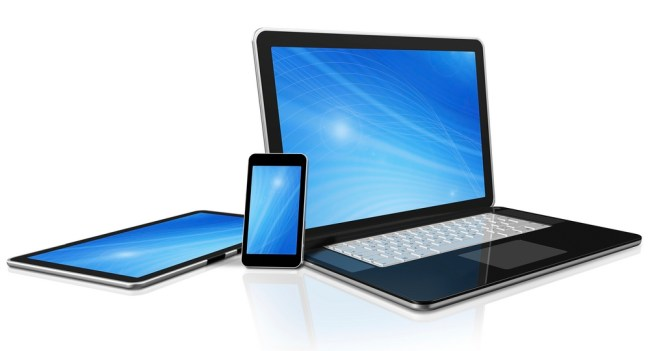 PC, tablet, smartphone