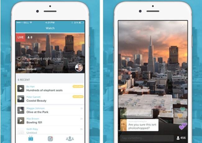 Periscope - приложение для потоковой трансляции видео от Twitter