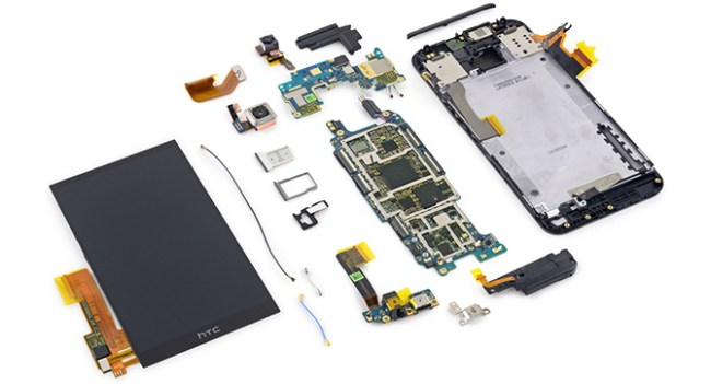 iFixit: смартфон HTC One M9 плохо поддается ремонту
