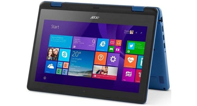 Acer анонсировала планшетный ноутбук Aspire R 11