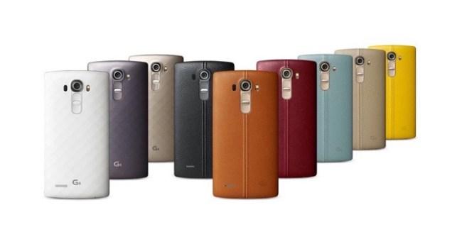 Утечка данных свидетельствует об использовании кожи в оформлении смартфона LG G4