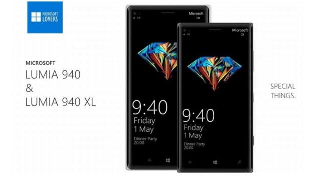 Microsoft Lumia 940, Microsoft Lumia 940 XL (1)