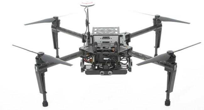 DJI представляет программируемый модульный квадрокоптер DJI Matrice 100