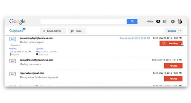Сервис Criptext позволяет зашифровать и отозвать отправленные через Gmail сообщения