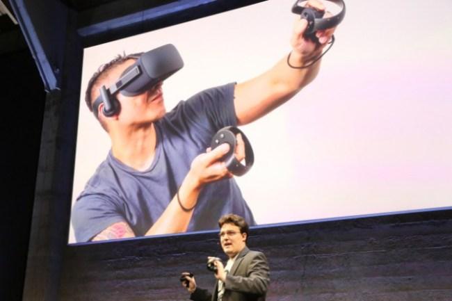 Oculus VR показала потребительскую версию шлема Oculus Rift и аксессуары к нему