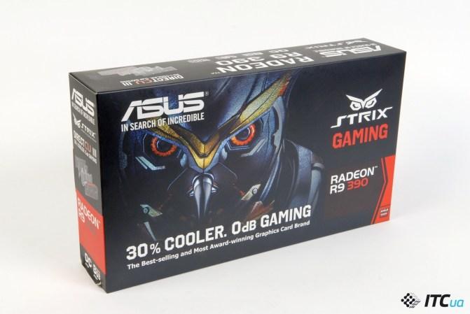 Обзор видеокарты ASUS STRIX R9 390 OC GAMING