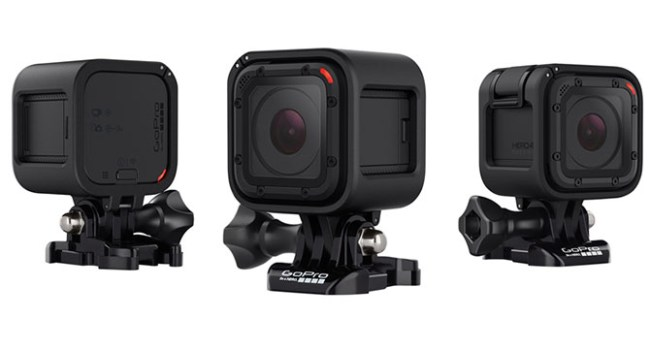 GoPro анонсировала компактную камеру HERO4 Session