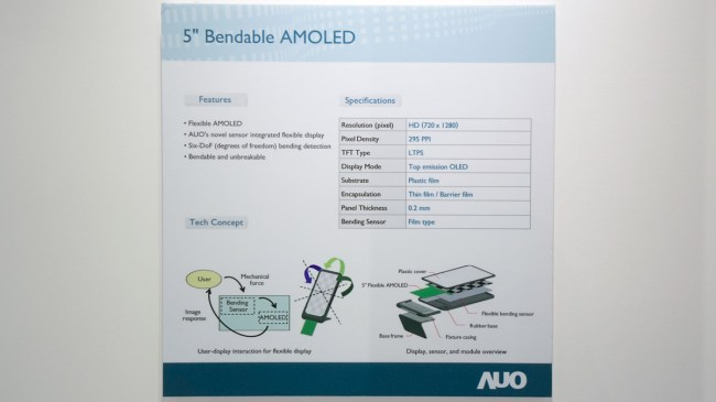 AUO-bendyphone-specs