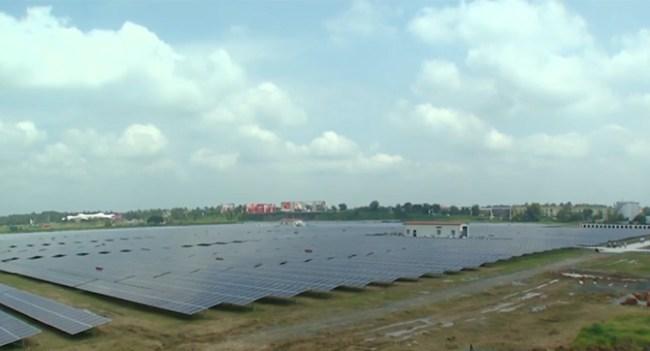 В Индии появился первый в мире аэропорт, питаемый исключительно солнечной энергией