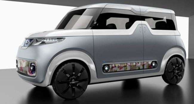 Nissan анонсировала концепт автомобиля с большим количеством дисплеев -для представителей «цифрового поколения»