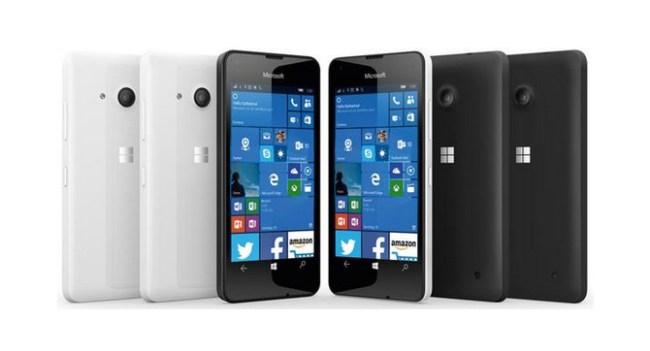 Появились рендерные изображения смартфона Microsoft Lumia 550
