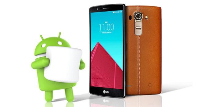 Смартфон LG G4 первым получит обновление до Android 6.0 Marshmallow