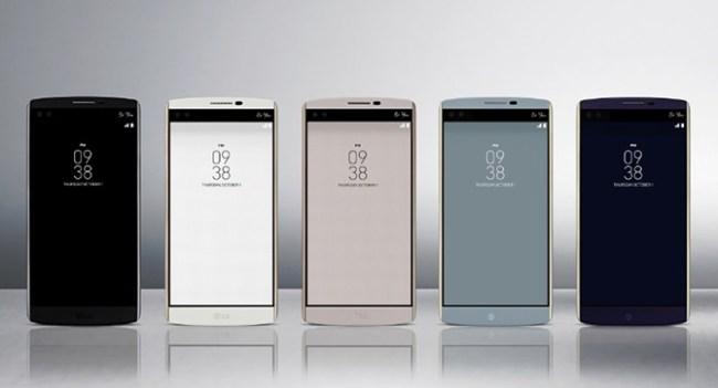 Состоялся официальный релиз смартфона LG V10, оснащённого двумя дисплеями