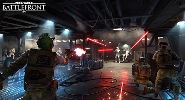 Состоялся релиз игры Star Wars: Battlefront
