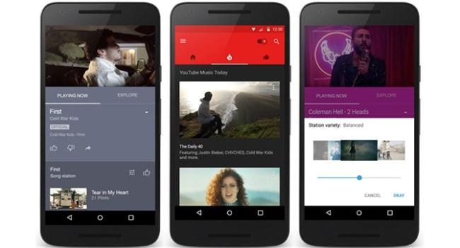 Google выпустила приложение YouTube Music для Android и iOS