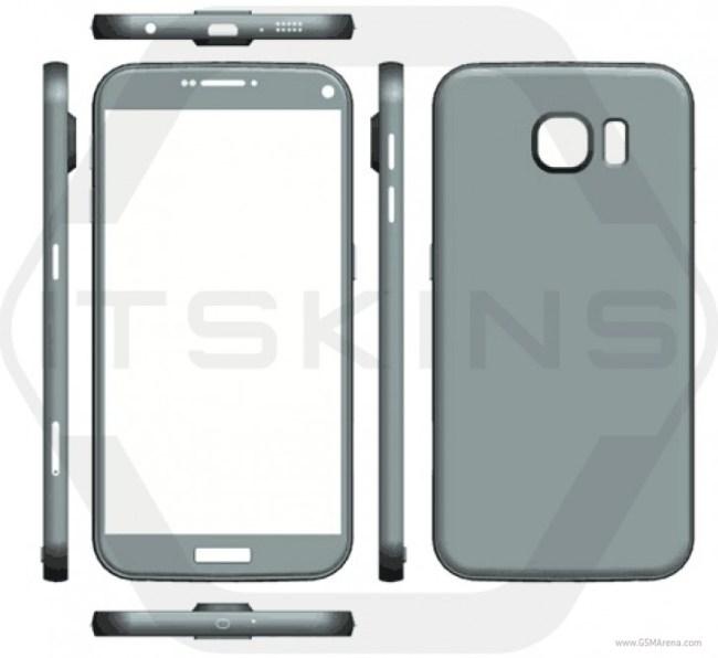 Смартфон Samsung Galaxy S7 получит обновлённый дизайн и три различных процессора