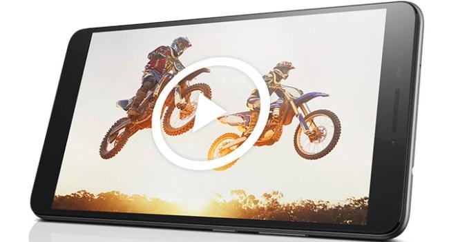 В Украине начинаются продажи 7-дюймового фаблета Lenovo PHAB по цене 5999 грн