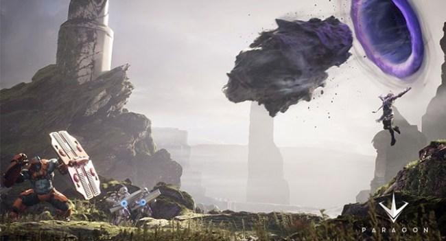 Epic Games анонсировала игру Paragon в жанре MOBA