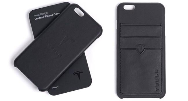 Tesla приступила к продаже кожаных чехлов для iPhone 6 или iPhone 6 Plus