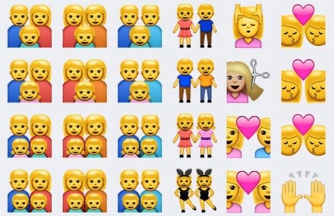 Дети видят в однополых смайлах Apple членов традиционной семьи: братьев, сестёр и других
