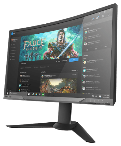 Lenovo Y27g Curved Gaming Monitor_06