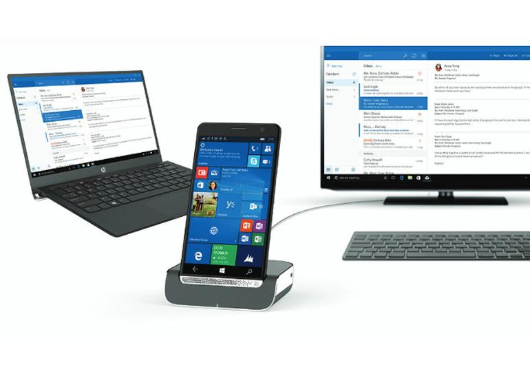 HP Elite x3 - 6-дюймовый фаблет с Windows 10 Mobile для сферы бизнеса