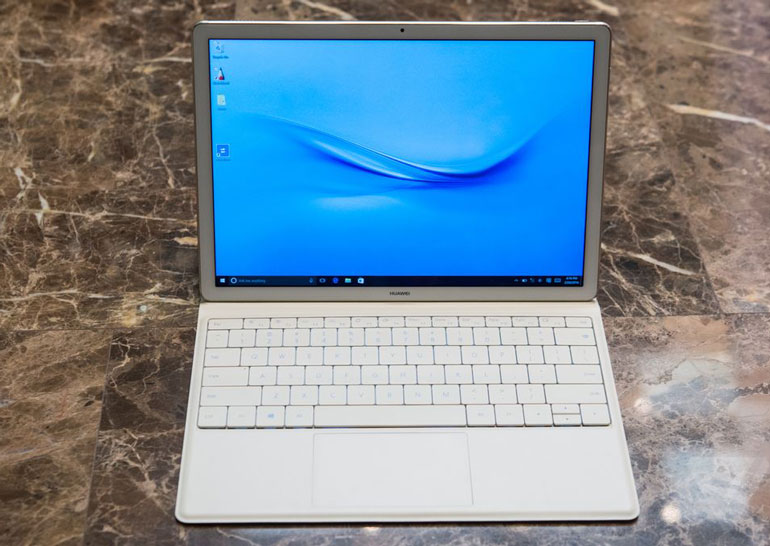 Huawei показала гибридное устройство MateBook с Windows 10