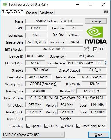 MSI_GTX950_Gaming_2G_GPU-Z_info_Overclock