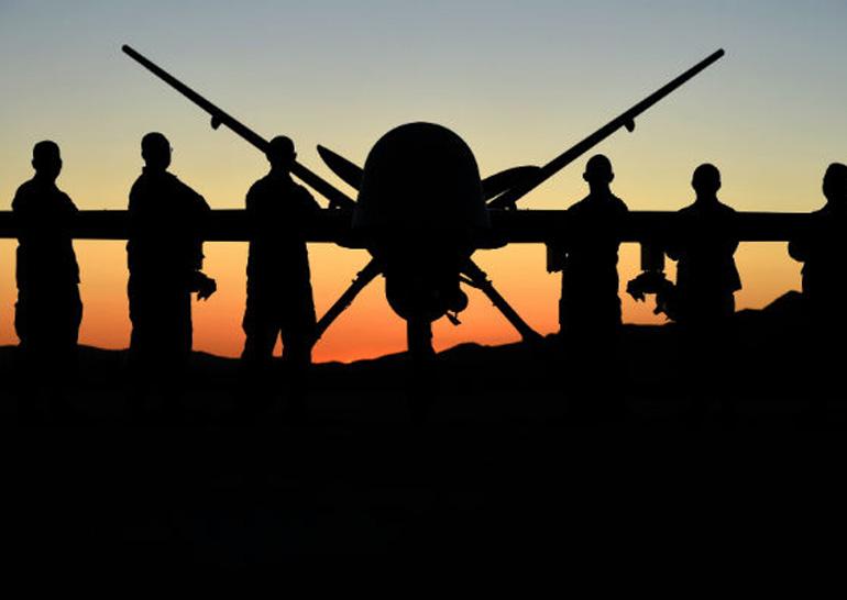 В США испытали модернизированный ударный дрон MQ-9ER