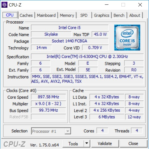 Dell_XPS_15_CPU_Z_info