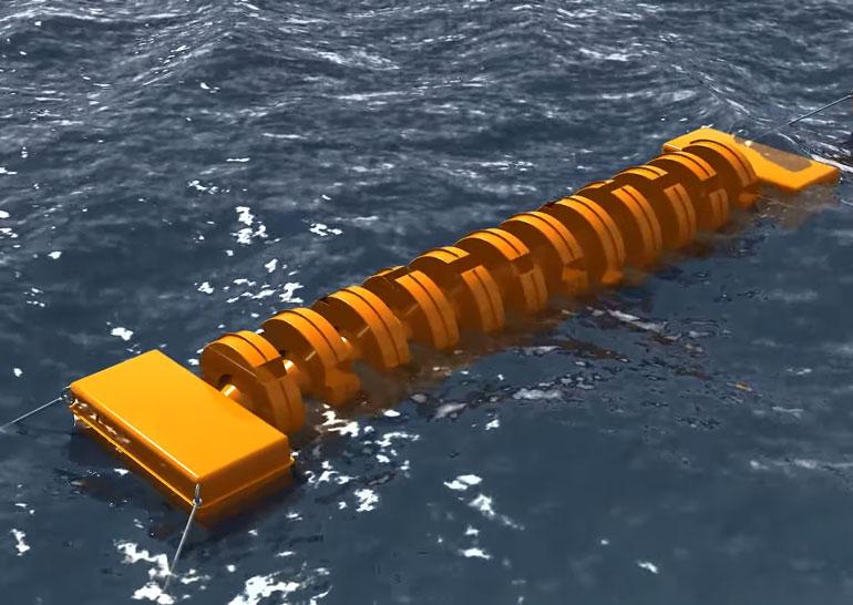 18-летний украинец запатентовал установку, генерирующую электричество под воздействием морских волн