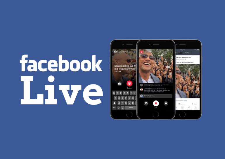 Сервис видеотрансляций Facebook Live стал доступен на страницах сообществ и мероприятий