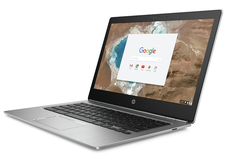 HP анонсировала Chromebook 13 в металлическом корпусе с процессором Intel Core M