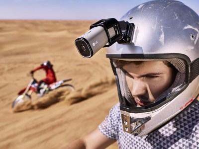LG представила 4K экшн-камеру LTE Action Camera со встроенным модемом LTE